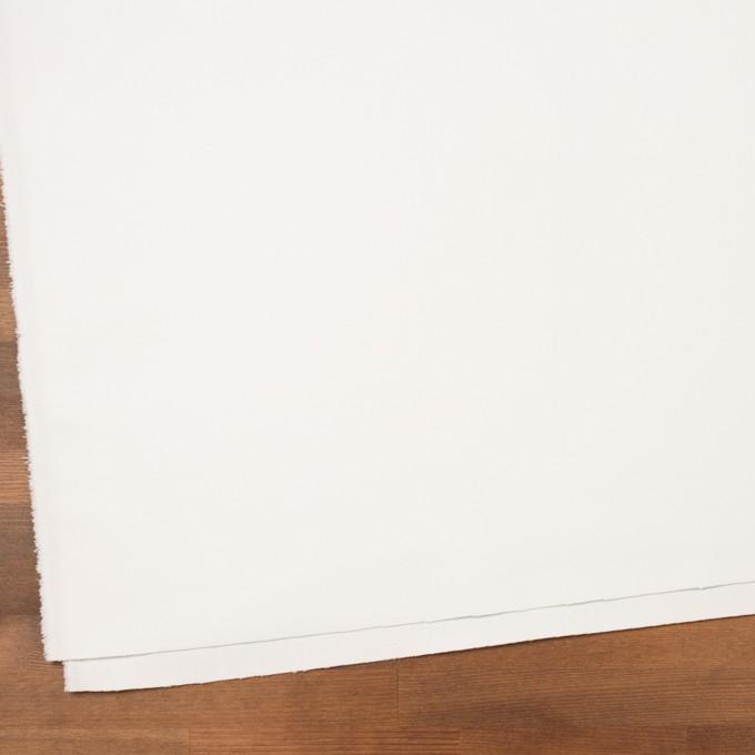 コットン×無地(オフホワイト)×フランネル_イタリア製 イメージ2