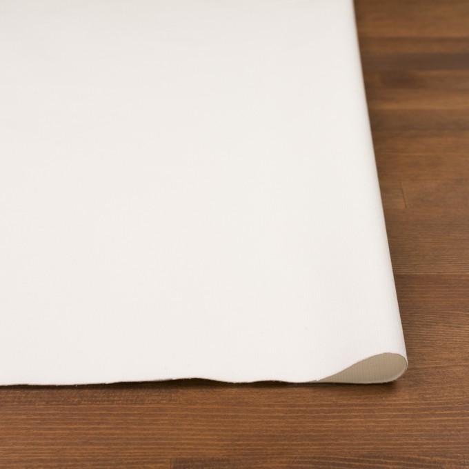 コットン&ポリウレタン×無地(オフホワイト)×細コーデュロイ・ストレッチ イメージ3