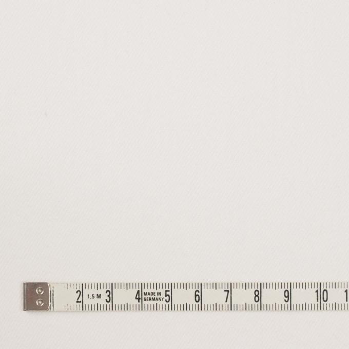 コットン&ポリウレタン×無地(オフホワイト)×カツラギ・ストレッチ イメージ4