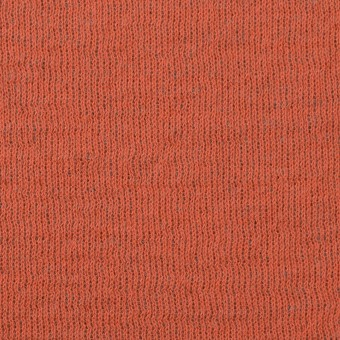 ウール&コットン×無地(オレンジ&グリーンフォグ)×リブ&天竺ニット サムネイル1