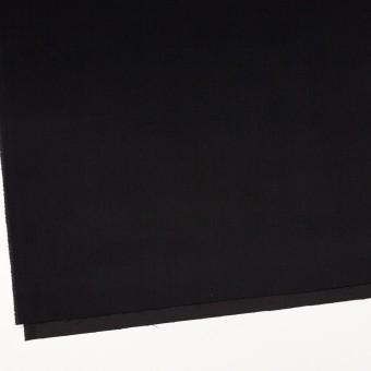 コットン×ポリエステル×無地(ブラック)×サテン_全2色 サムネイル2