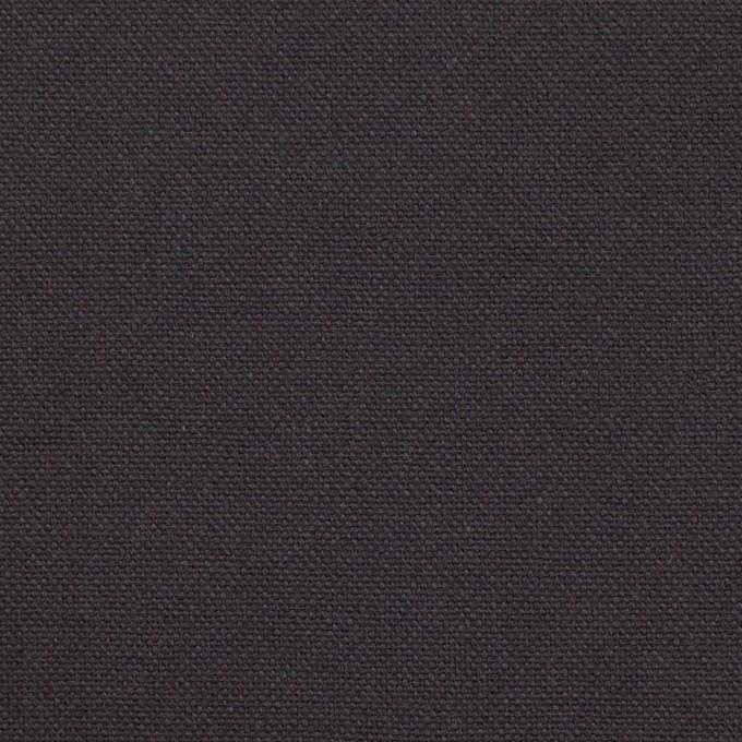 コットン×無地(チャコール)×10号帆布 イメージ1
