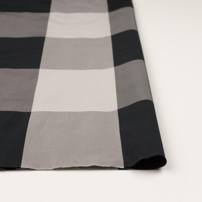 ポリエステル×チェック(ライトグレー&ブラック)×形状記憶サージ_全2色 イメージ3
