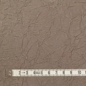 ビスコース&ポリエステル×無地(ローズグレー)×タフタワッシャー(裏芯地貼り)_イタリア製 サムネイル4