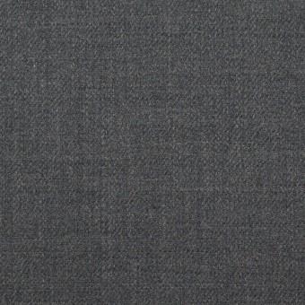 ウール&ポリウレタン×無地(スチールグレー)×サージストレッチ サムネイル1