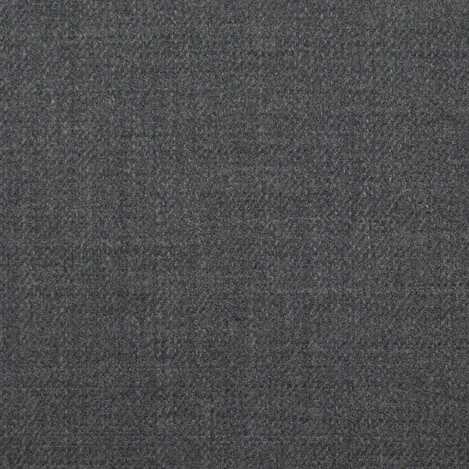 ウール&ポリウレタン×無地(スチールグレー)×サージストレッチ イメージ1