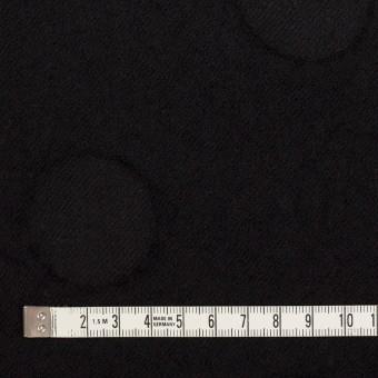 ウール×サークル(ブラック)×カットジャガード サムネイル4