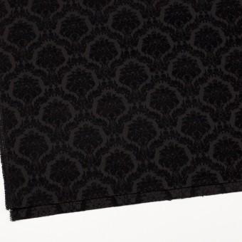 ポリエステル&コットン×幾何学模様(ブラック)×ジャガード サムネイル2