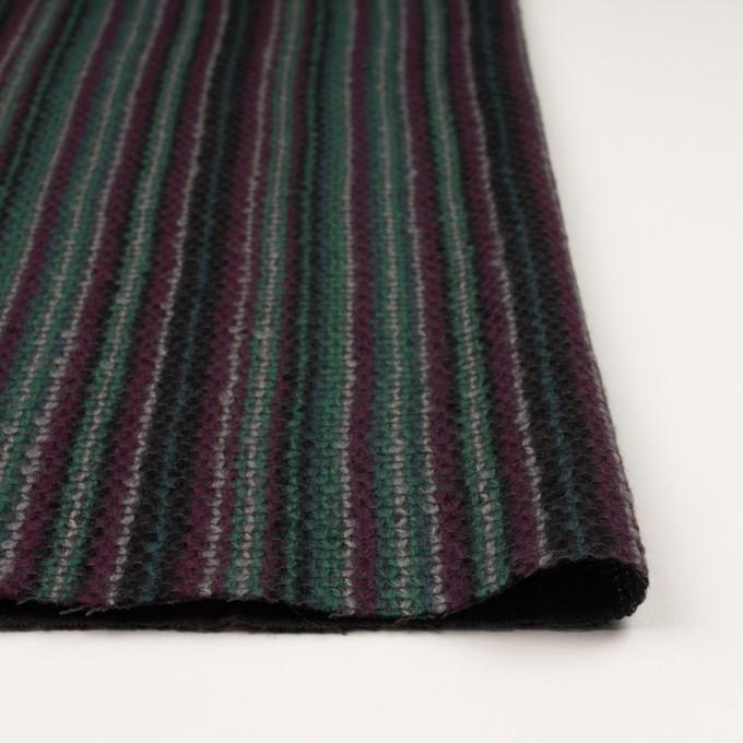 ウール×ストライプ(マルチ)×かわり織 イメージ3
