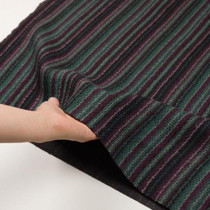 ウール×ストライプ(マルチ)×かわり織 イメージ5