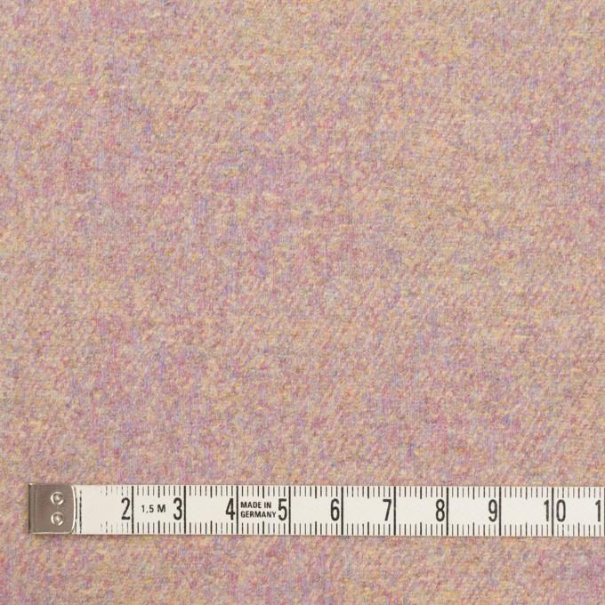ウール&ポリエステル混×ミックス(パステル)×フラノ(フランネル) イメージ4
