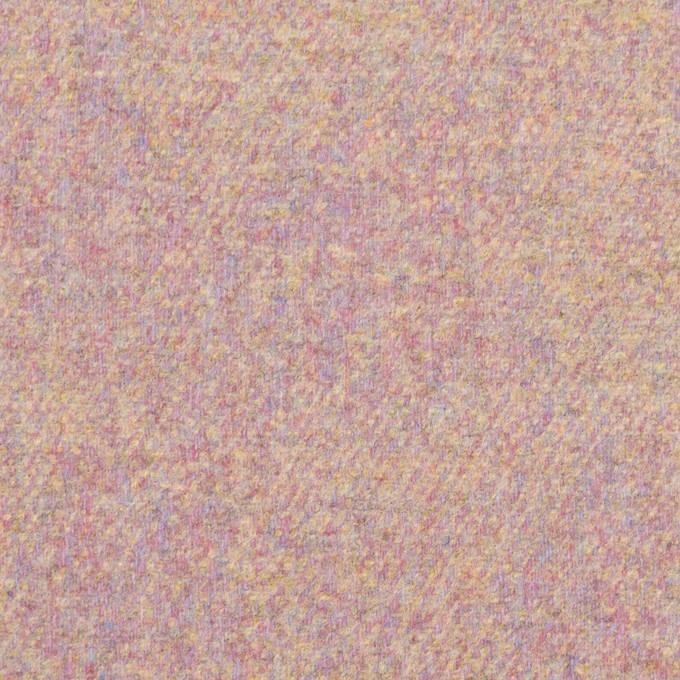 ウール&ポリエステル混×ミックス(パステル)×フラノ(フランネル) イメージ1