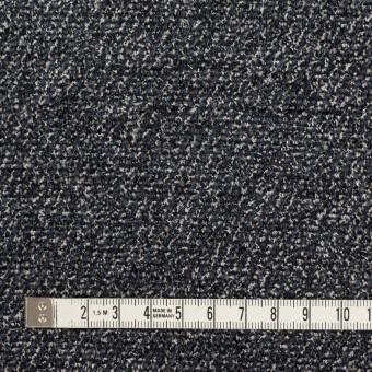 シルク&レーヨン×ミックス(ブルーグレー&ブラック)×かわり織 サムネイル4