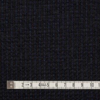 ウール&アクリル×ミックス(ミッドナイトブルー&ブラック)×ファンシーツイード サムネイル4