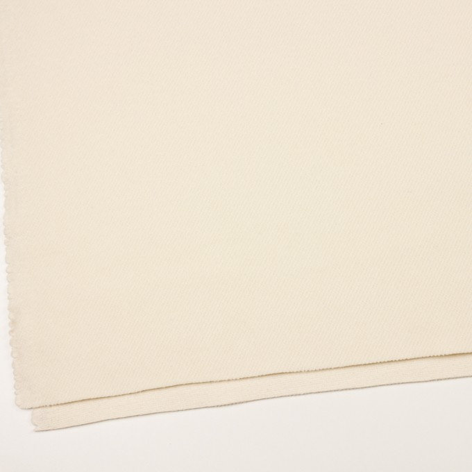 ウール&ナイロン×無地(クリーム)×かわり織 イメージ2