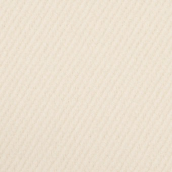 ウール&ナイロン×無地(クリーム)×かわり織 サムネイル1