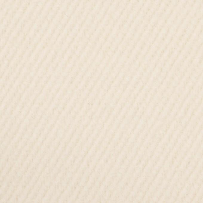 ウール&ナイロン×無地(クリーム)×かわり織 イメージ1