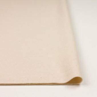 ウール&ナイロン×無地(アンティークホワイト)×フラノ(フランネル)_イタリア製 サムネイル3