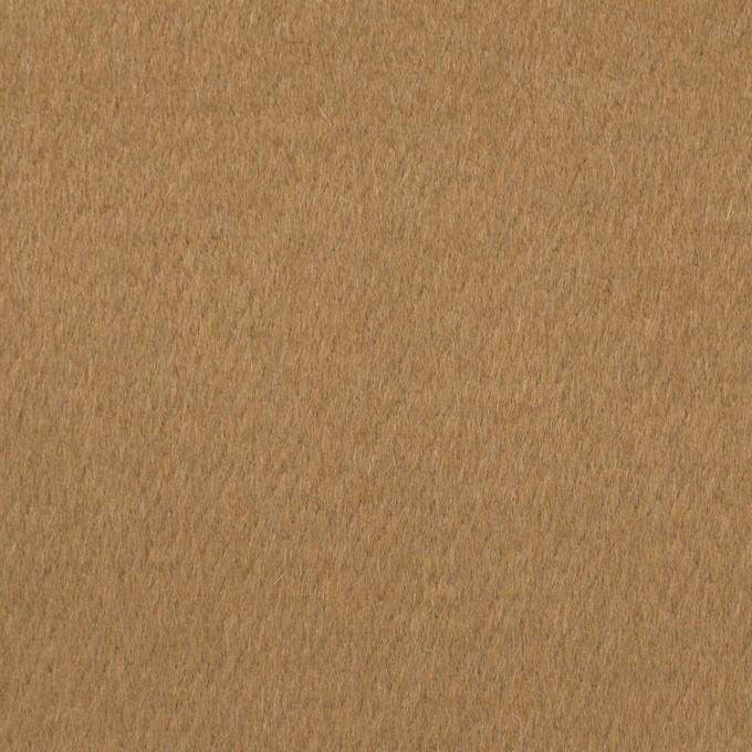 ウール×無地(シナモン&ブルーグレー)×Wフェイスビーバー イメージ1