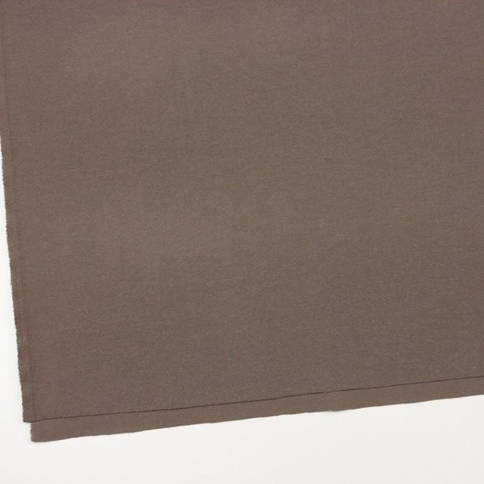 コットン&ポリエステル混×無地(ベージュグレー)×ビエラストレッチ_イタリア製 イメージ2