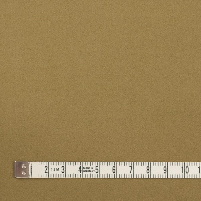 コットン&ポリウレタン×無地(イエローオーカー)×フランネル・ストレッチ_イタリア製 イメージ4