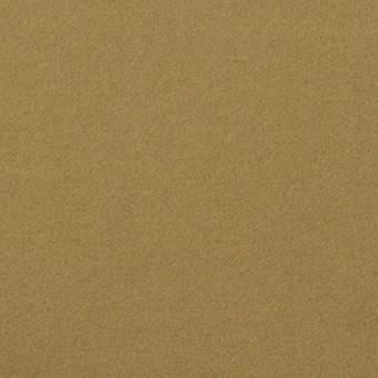 コットン&ポリウレタン×無地(イエローオーカー)×フランネル・ストレッチ_イタリア製 サムネイル1