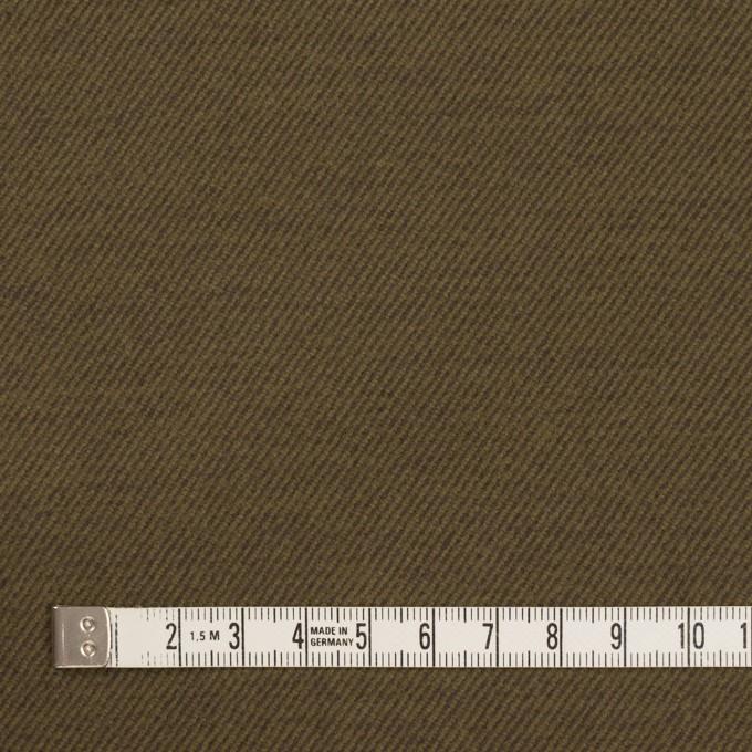 コットン&ポリウレタン×無地(オリーブ)×ビエラストレッチ_全3色 イメージ4