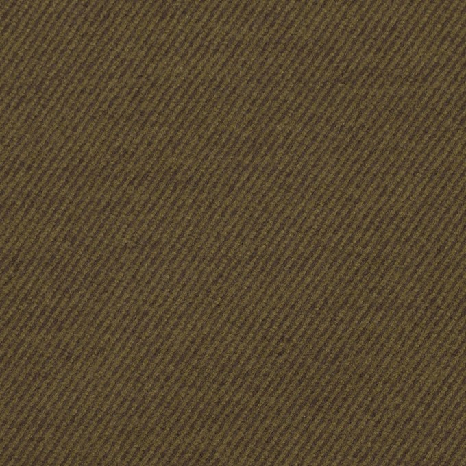 コットン&ポリウレタン×無地(オリーブ)×ビエラストレッチ_全3色 イメージ1