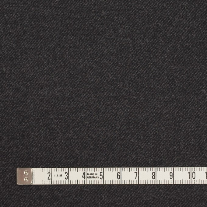コットン&ポリウレタン×無地(チャコール)×ビエラストレッチ_全3色 イメージ4