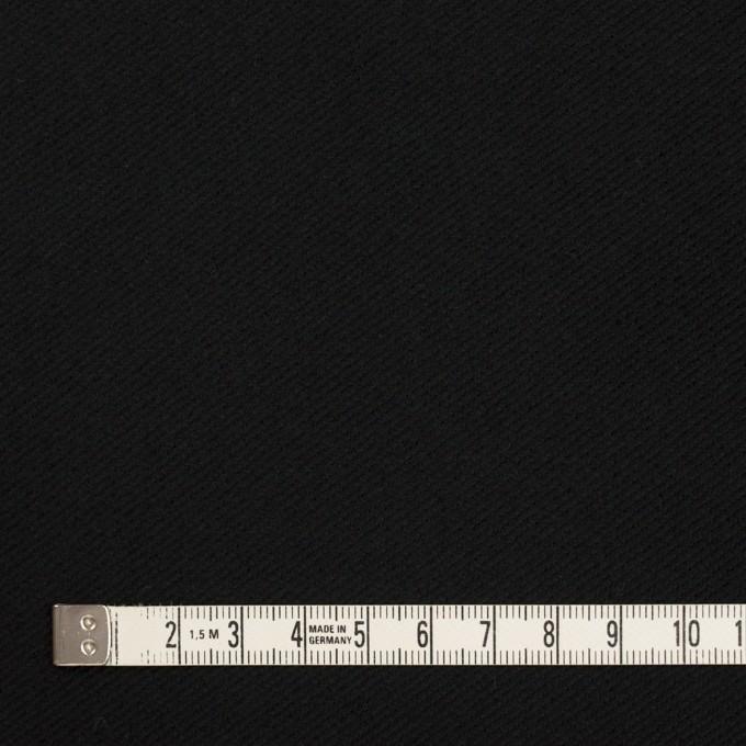 コットン×無地(ブラック)×ビエラ イメージ4
