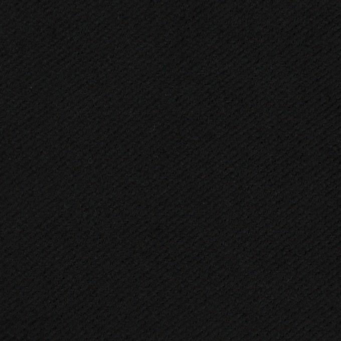 コットン×無地(ブラック)×ビエラ イメージ1
