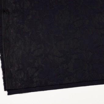 ポリエステル&アクリル混×フラワー(ダークネイビー)×ニードルパンチレース_全3色 サムネイル2
