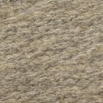ウール&ポリエステル混×無地(オートミール)×ループニット_全2色 サムネイル1