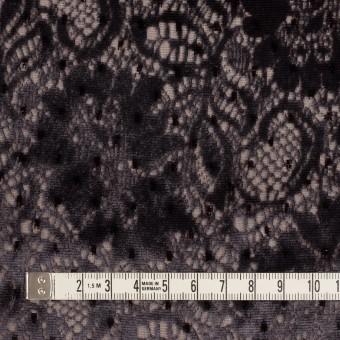 レーヨン&ポリエステル×フラワー(ダークパープル)×オパールベルベット サムネイル4