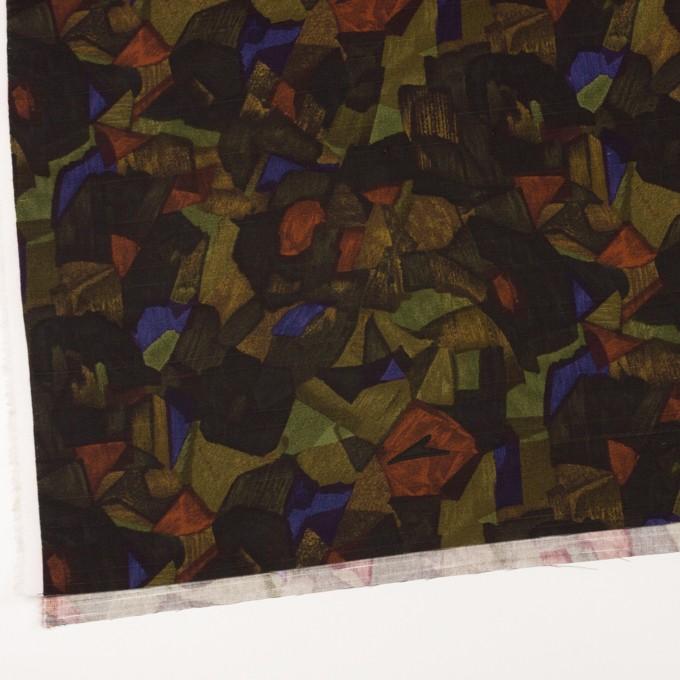 コットン×ペイント(マルチ)×サテン_イタリア製 イメージ2