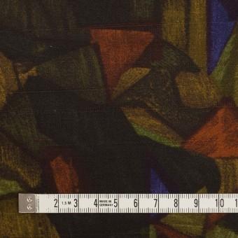 コットン×ペイント(マルチ)×サテン_イタリア製 サムネイル4