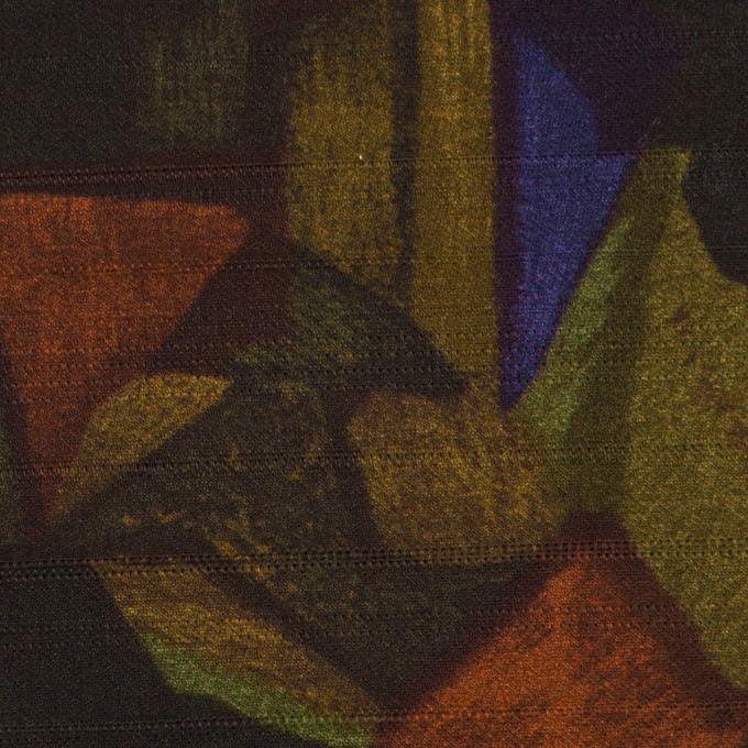 コットン×ペイント(マルチ)×サテン_イタリア製 イメージ1