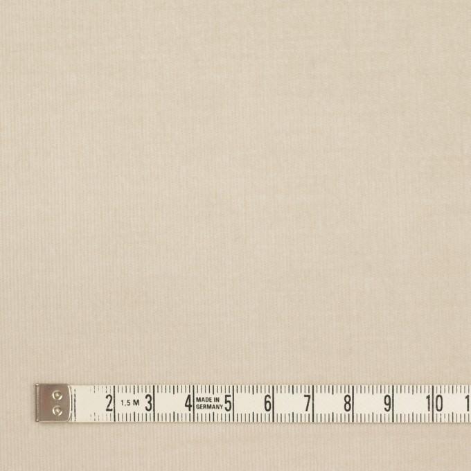 コットン&ポリウレタン×無地(アイボリー)×細コーデュロイ・ストレッチ イメージ4