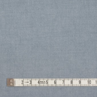 コットン&ポリウレタン×無地(スモークブルー)×細コーデュロイ・ストレッチ サムネイル4