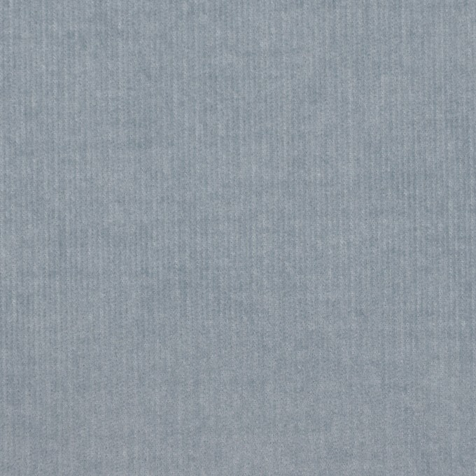 コットン&ポリウレタン×無地(スモークブルー)×細コーデュロイ・ストレッチ イメージ1