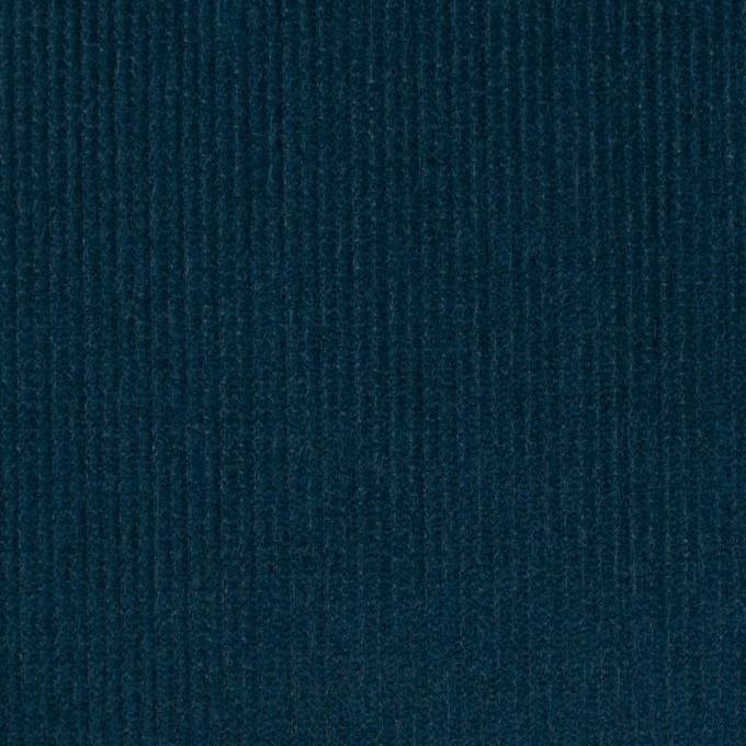 コットン×無地(インクブルー)×中細コーデュロイ イメージ1