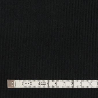 コットン×無地(ブラック)×中細コーデュロイ サムネイル4