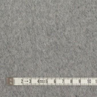 ウール&ナイロン×無地(シルバーグレー)×ビーバー サムネイル4