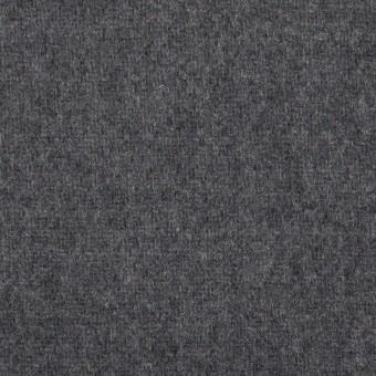 【80cmカット】ウール×無地(チャコールグレー)×ソフトメルトン