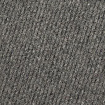 ウール×無地(チャコールグレー)×厚カルゼ_全2色