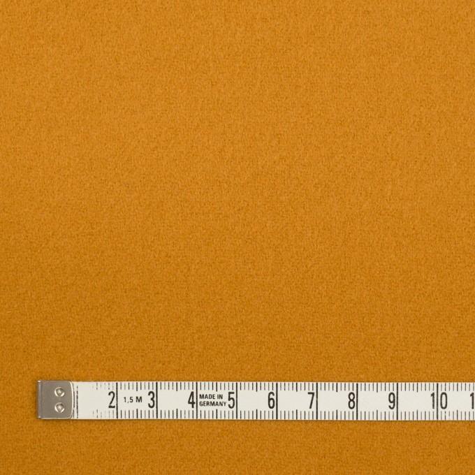 ウール×無地(マスタード)×ソフトメルトン イメージ4