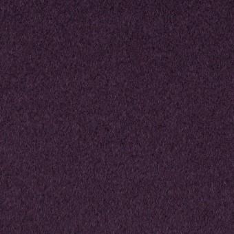 ウール×無地(パープル)×ビーバー_イタリア製 サムネイル1