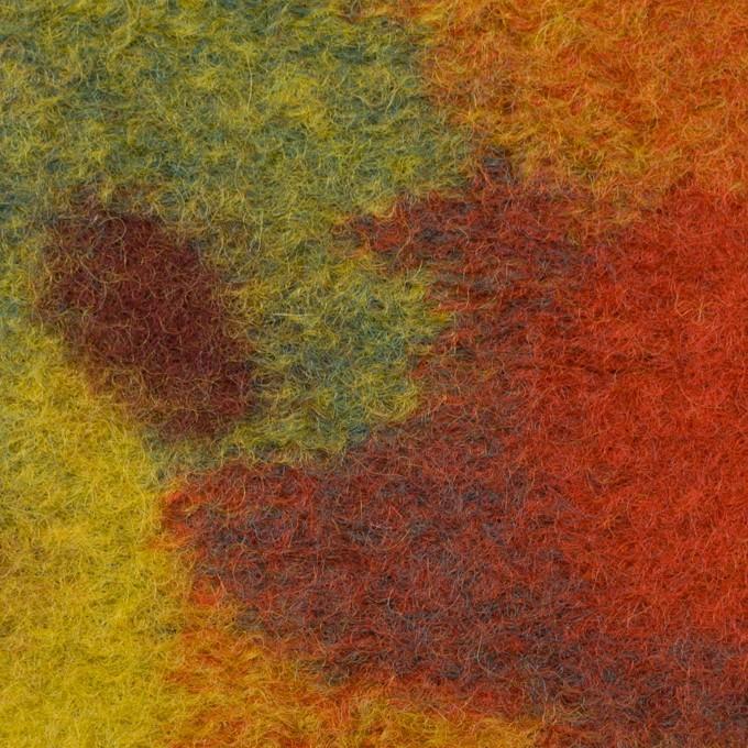 ウール&ナイロン×ミックス(マルチ)×ジャガードニット イメージ1