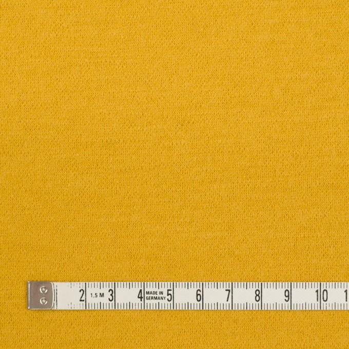 ウール×無地(イエロー)×圧縮ニット イメージ4