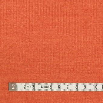ウール&ナイロン×無地(キャロット)×スムースニット サムネイル4